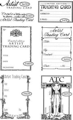 artist trading card envelope template envelope for artist trading cards 3 75 x 2 5 or credit