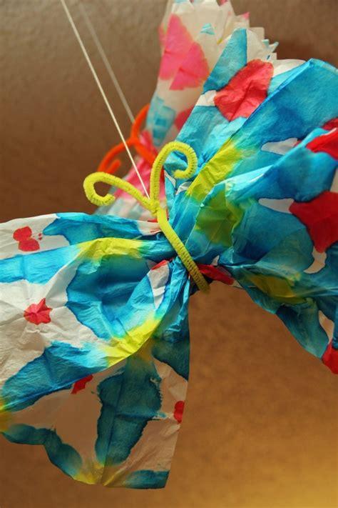 Tie Dye Paper Craft - tie dye butterfly pi ikea st