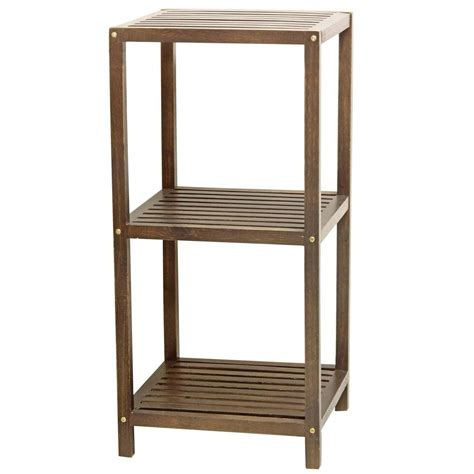 shelf 3 tier mahogany l gt ools