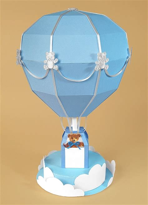 balloon card template a4 card templates for 3d air balloon display