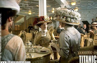 titanic boat scene script titanic script