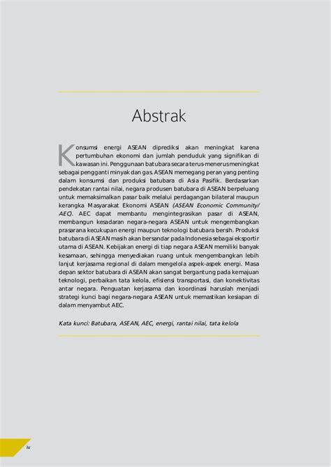 Batubara Dan Pemanfaatannya Pengantar Teknologi Batubara 1 tren batubara asean tantangan dan peluang menghadapi