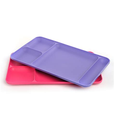 Tupperware Tray 2 tupperware dining tray set of 2 by tupperware serving tray kitchen pepperfry product
