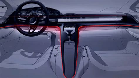 porsche concept interior concept cars for 2018 7 porsche mission e concept
