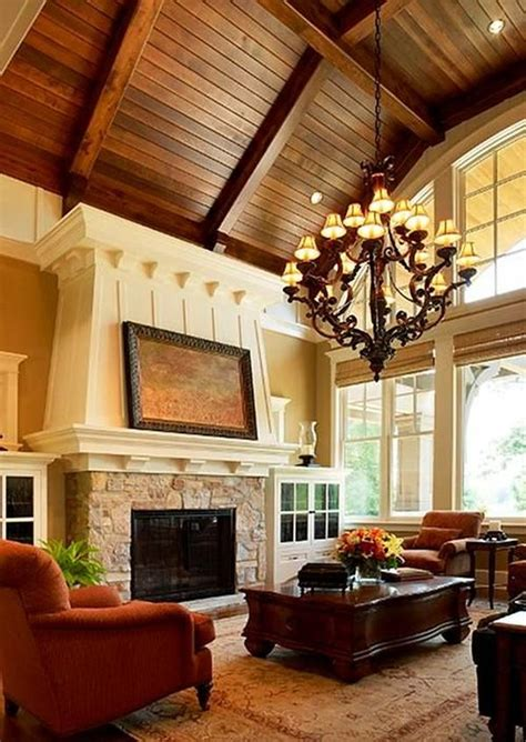 How To Decorate A Living Room With High Ceilings Living Room With High Ceiling