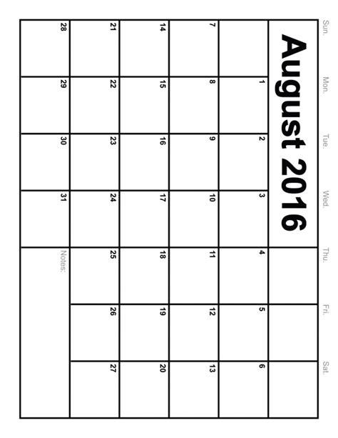 6 best images of 8 x 11 printable 2016 calendar planner 8 x 11 calendar printable free calendar template
