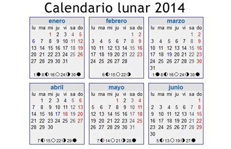 Calendario Lunar Noviembre 2014 Calendario 2014 Una Colecci 243 N Con Descargar Directa
