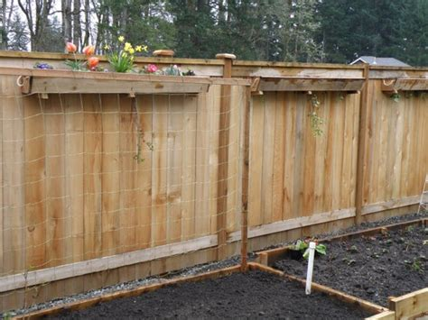 Fence Hanging Planter Box by Fence Box Planter All Things Gardening
