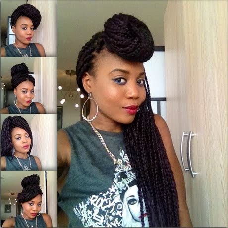 hairstyles you can do with braids hairstyles you can do with box braids