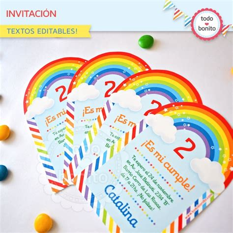 Pie Minion By Supplier Batam arcoiris invitaci 243 n para imprimir todo bonito