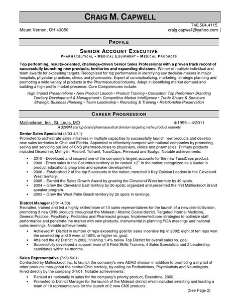 Pharmaceutical Sales Rep Resume Exles by Professional Resume Services Columbus Oh Bestsellerbookdb