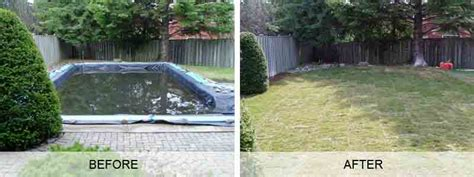 swimming pool fill in removal and demolition company