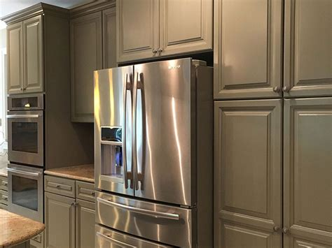 Refinishing Maple Kitchen Cabinets Kitchen Cabinet Refinishing Painting Grande Finale