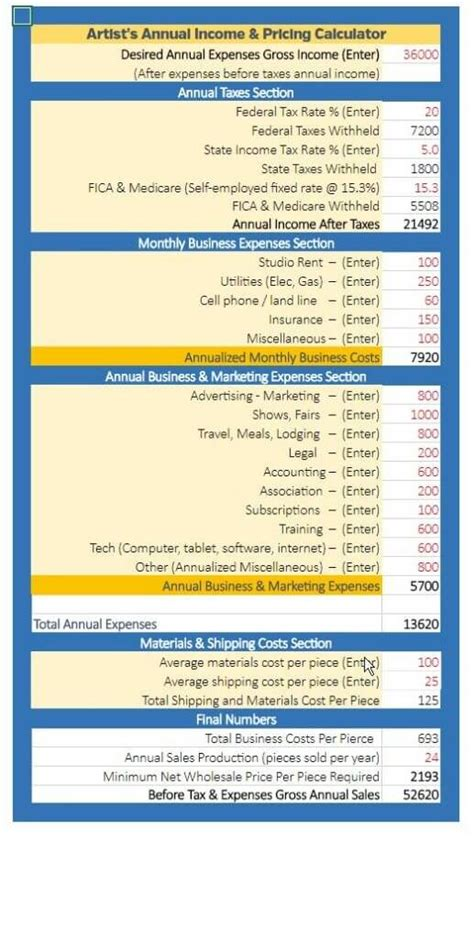 calculator yearly income annual income calculator bing images