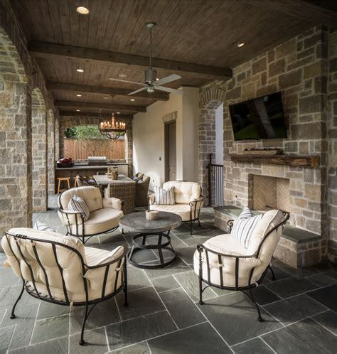 Home Patio Designs Bordley 2 Traditional Patio Houston By Thompson Custom Homes