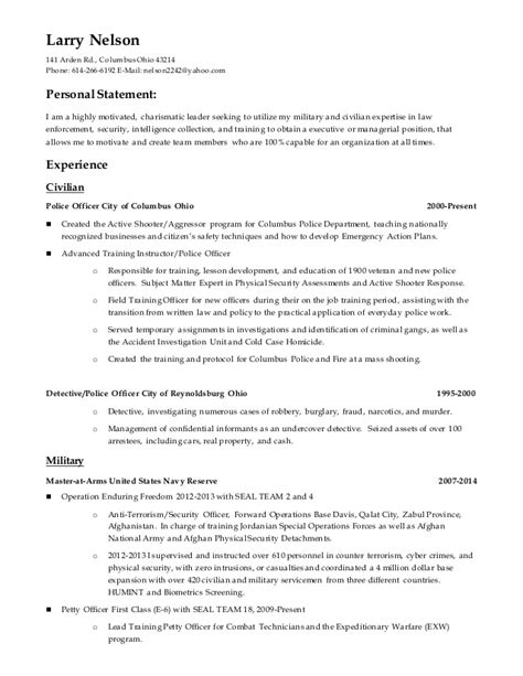 Civilian Resume by Civilian Resume