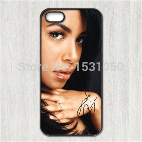 Aaliyah Y0238 Iphone 5 5s aaliyah signature cover for iphone 4s 5s 5c 6 plus