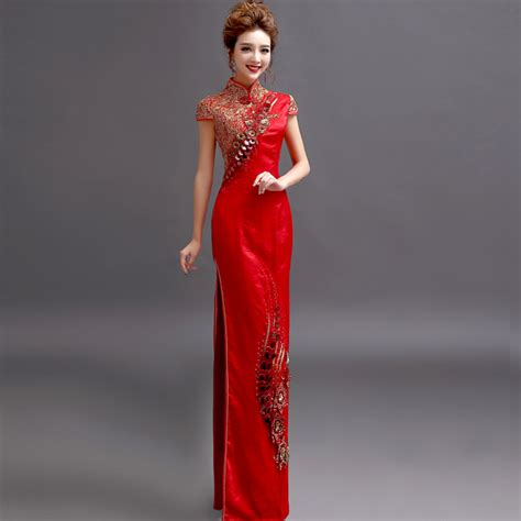 Cheongsam Batik Merah buy grosir cheongsam batik from china cheongsam