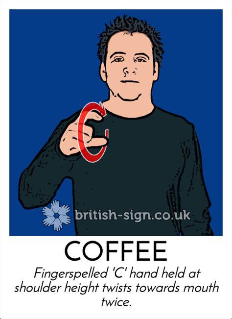 limited edition coffee tee  days  sign language