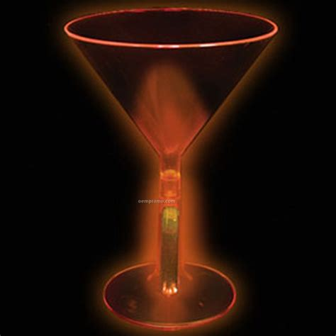 martini orange 8 oz orange glow martini glass china wholesale 8 oz
