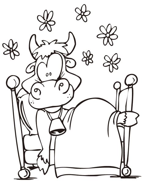 funny cow coloring page h m coloring pages