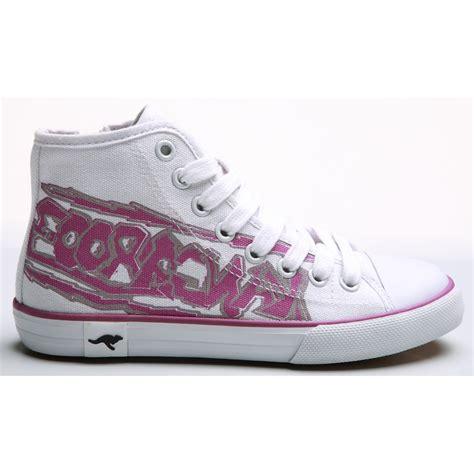 high top sneakers for boys kangaroos childrens boys 2053 high top sneakers ebay
