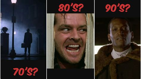 film laga era 80 best era for horror movies of all time 70 s 80 s 90 s