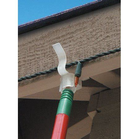 christmas light company eave grip clips 25ct eaves for hanging decorations and lights without using a ladder walmart
