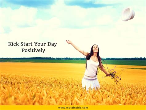 What A Way To Start A Day by 6 Ways To Kick Start Your Day Positively