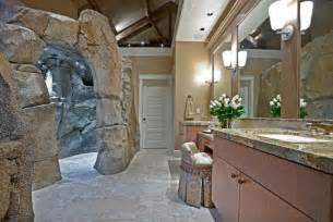 cave bathroom ideas master  how about a tropical shower cover the walls with stone and you