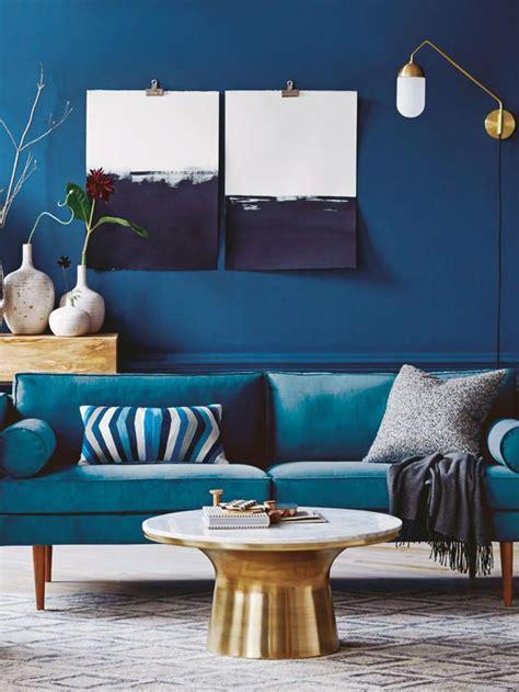 Blaues Sofa Welche Wandfarbe by Die Besten 17 Ideen Zu Braunes Sofa Auf