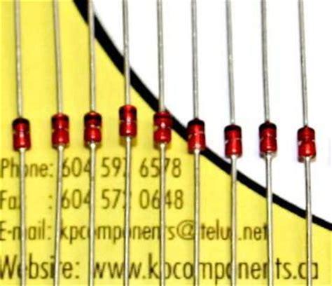 6 8v zener diode 1n4736a 6 8v 1w zener diode kp components inc