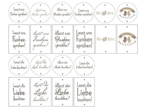 Etiketten Drucken Für Hochzeit printables zur hochzeit 20 etiketten f 195 188 r wunderkerzen