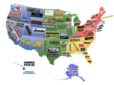 map of us what states are known for show me a map of the united states of america