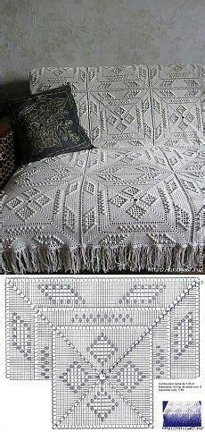 copriletto filet schemi pi 249 di 25 fantastiche idee su coperte della nonna a