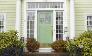 Painting exterior doors shutters and trim
