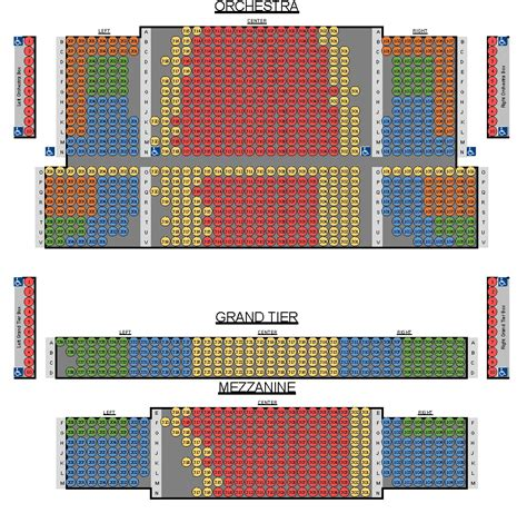 belk theater seating map blumenthal theater seating chart the