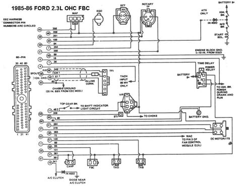 1987 ford ranger radio wiring diagram wiring diagram and