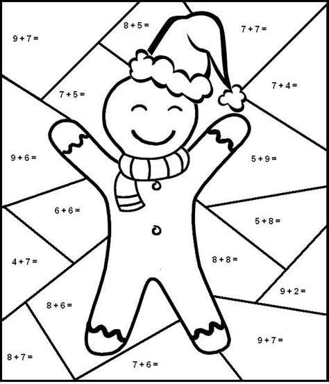 christmas coloring pages for first grade baby potatoes christmas math