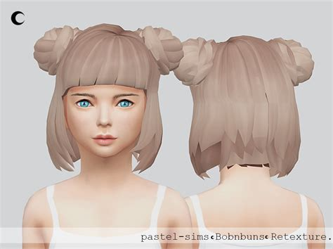 ponytailsims 4 child sims 4 hairs kalewa a bob n buns child