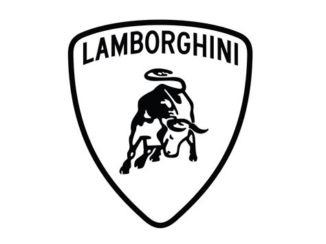 lamborghini logo black and white logo lamborghini