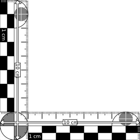 printable evidence ruler ruler instrument clip art at clker com vector clip art