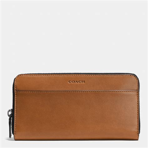Coach Wallet For By Bagladies lyst coach accordion zip wallet in sport calf leather in
