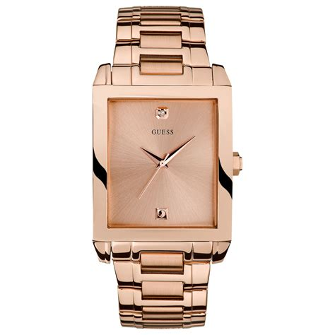 Guess Merica Rosegold Limited guess s accent gold tone stainless steel bracelet 41x37mm u0102g2 in