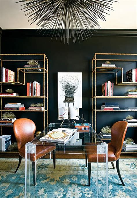 Interior Design Black Walls by 30 Exquisite Black Wall Interiors For A Modern Home