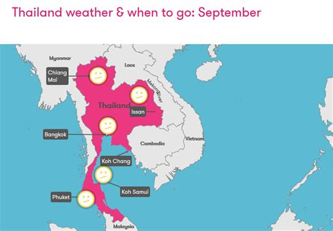 thailand weather september thailand weather september