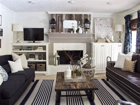 Cottage Inspired Living Rooms by Cottage Living Room With Reclaimed Wood Accents Hgtv