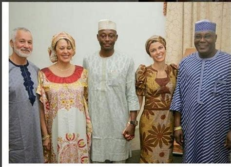 american wedding laws atiku abubakar s american in laws arrive nigeria for