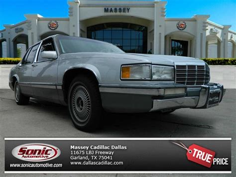 Cadillac Of Plano 782 Used 1992 Cadillac D Elegance Forsale