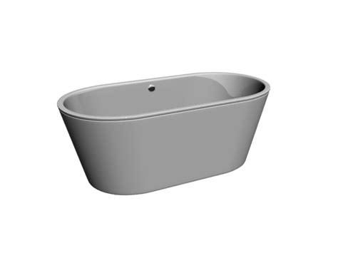 deepest bathtub available free standing deep bathtub 3d model 3dsmax files free